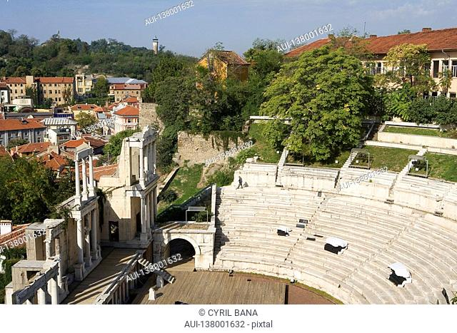 Bulgaria - North-West Region - Rhodope Mountains - Plovdiv - Old City - Roman Theatre