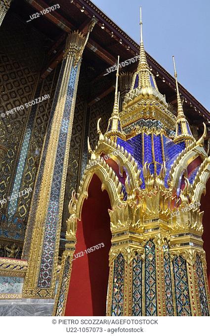 Bangkok (Thailand): the Wat Phra Kaew