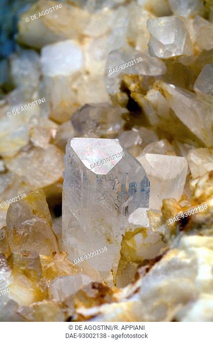 Danburite, silicate