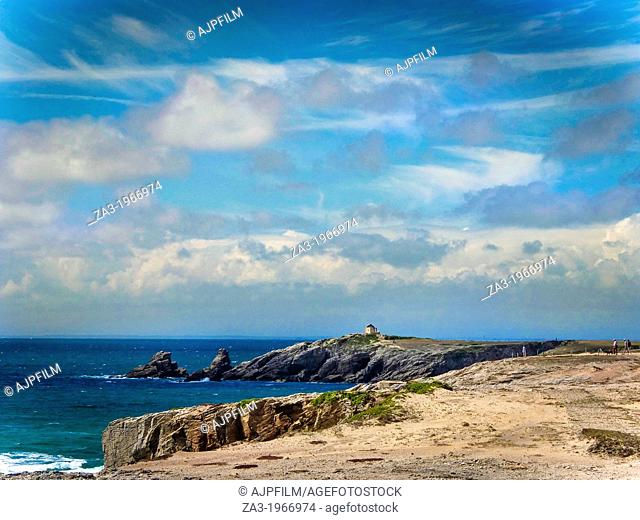 Côte sauvage. Wild Coast. Morbihan. Bretagne. Britany. France