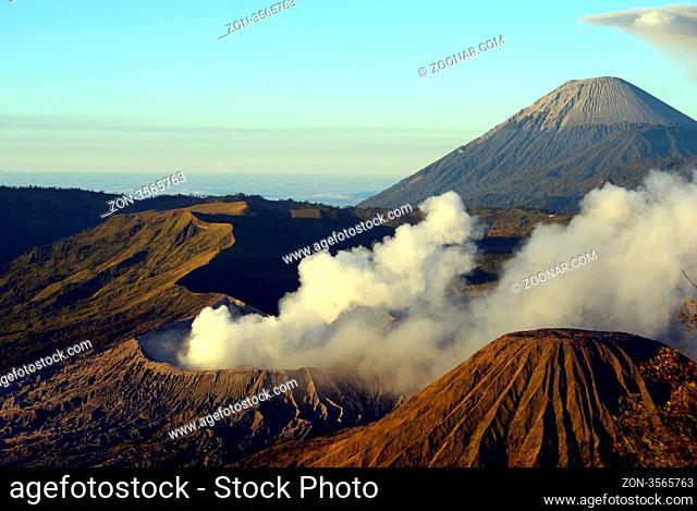 Bromo and sumeru vulcano, Java, Indonesia