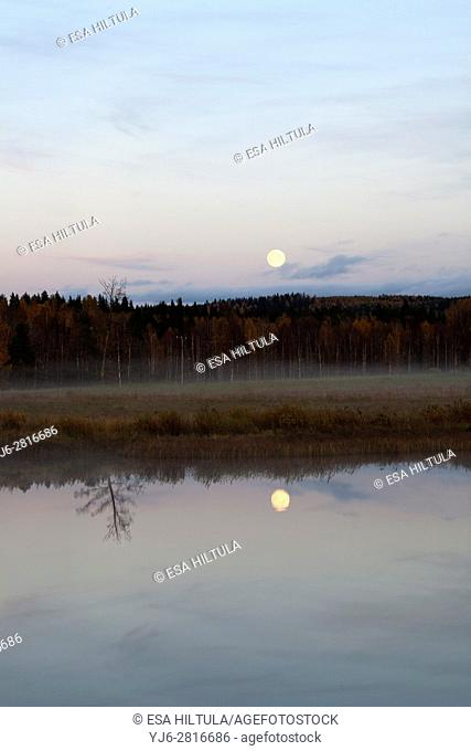 Evening scenery, Valtimo Finland