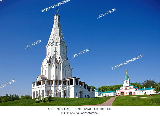 The Church of the Ascension in Kolomenskoe estate  Moscow, Russia