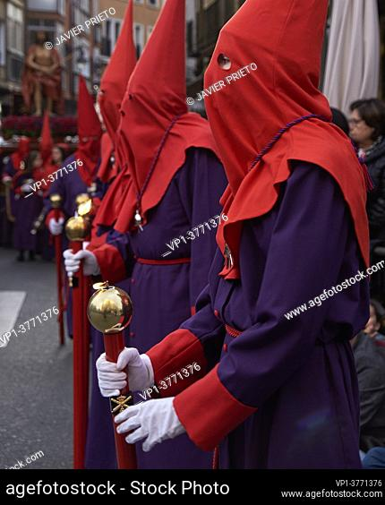 The General Procession of the Sagrada Pasión del Redentor is a procession in which all the brotherhoods of the Holy Week of Valladolid participate
