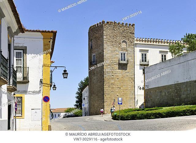 Historic centre of Évora, a Unesco World Heritage Site. Portugal