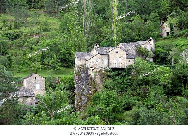 view on La Sabliere, France, Languedoc-Roussillon
