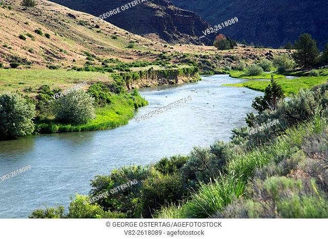 Malheur River, Riverside Wildlife Area, Oregon