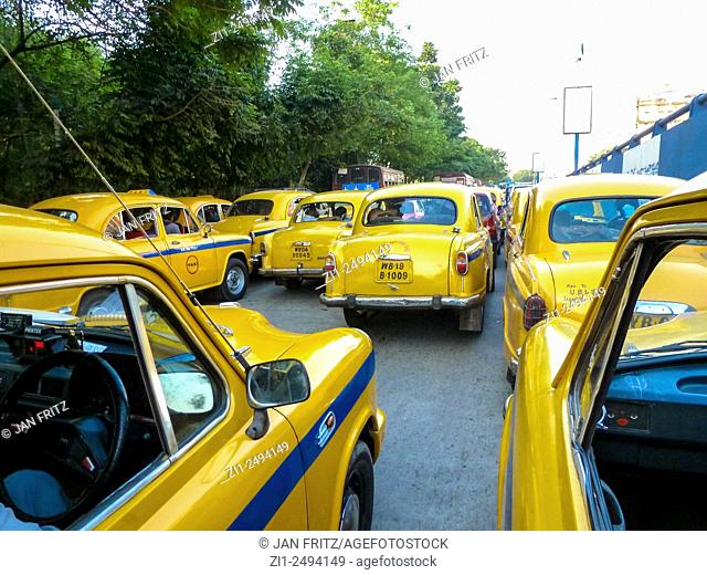 cabs in Kolkata or Calcutta in India