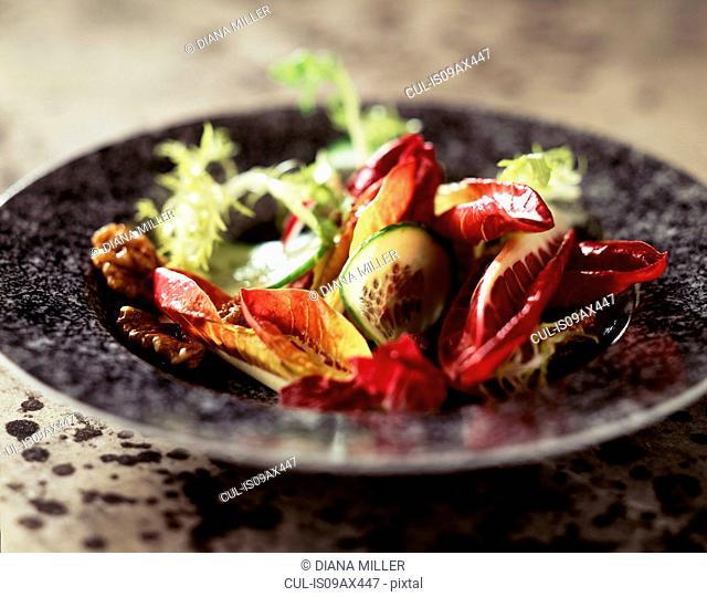 Vegetarian salad, close-up