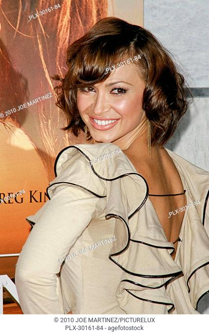 Karina Smirnoff at the World Premiere of Touchstone Pictures' The Last Song. Arrivals held at Arclight Hollywood Cinema in Hollywood CA, March 25, 2010