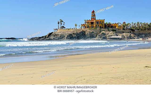 Hotel Hacienda Cerritos, El Pescadero, Baja California, Mexico