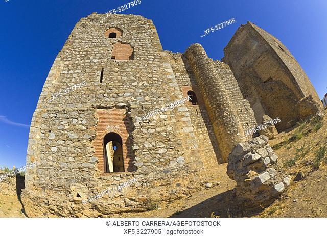 Castle of Villagarcía de la Torre, Villagarcía de la Torre, Badajoz, Extremadura, Spain, Europe