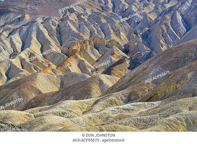 20 Mule Team Canyon, Death Valley National Park, California, USA