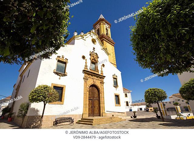 Church. Iglesia de Nuestra Señora de los Remedios. Malaga province Costa del Sol. Andalusia Southern Spain, Europe