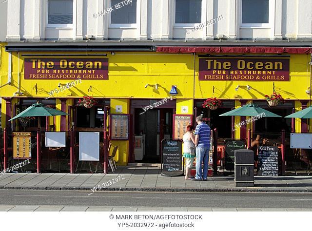 The Ocean pub restaurant at Brighton seafront Sussex