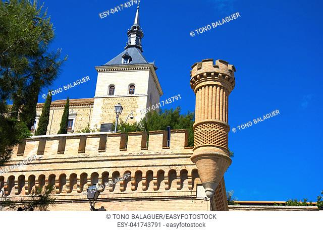 Alcazar de Toledo in Castile La Mancha of Spain