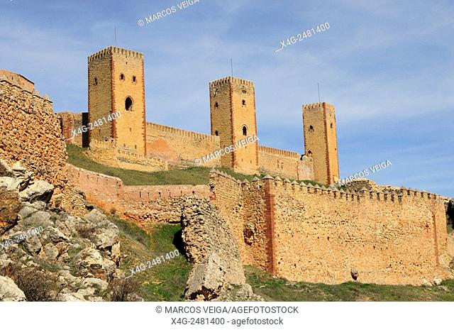 Castle of Molina de Aragon, Spain