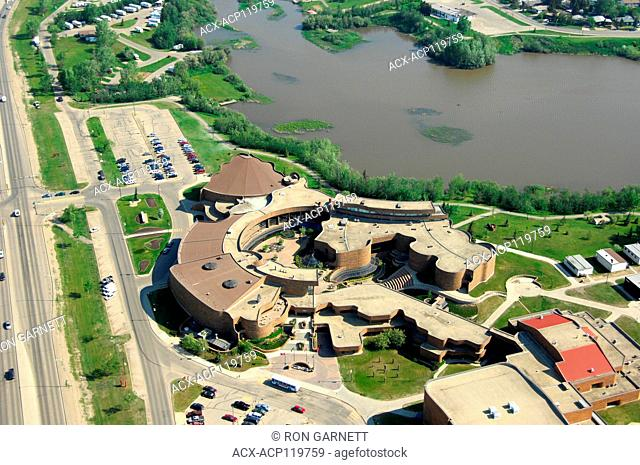 aerial, Grande Prairie College, Grande Prairie, Alberta