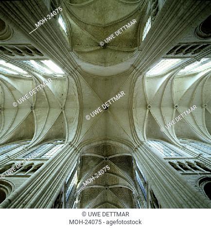 Soissons, Kathedrale/ Vierungsgewölbe