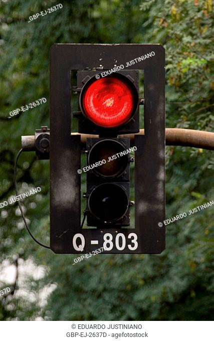 Signalling of Traffic, Traffic light, Brazil