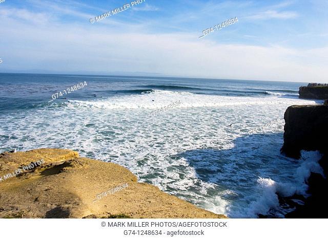 California coast, USA