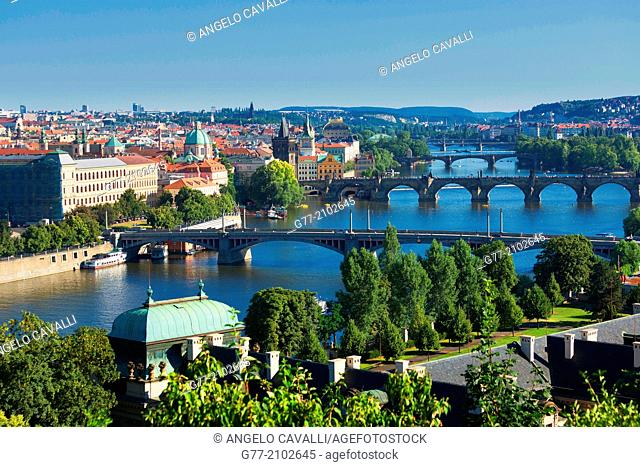 Czech Republic. Prague. The Old Town. Charles Bridge