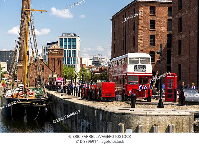 Merseyside Maritime Museum Liverpool England UK