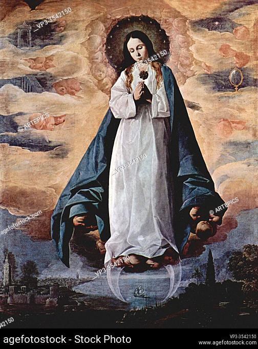 Francisco De Zurbaran - Immaculate Conception 1630