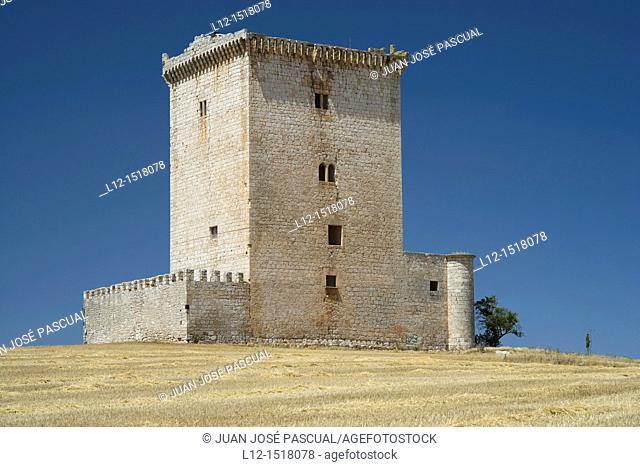 Castle, Mazuelo de Muño, Burgos province, Castille-Leon, Spain