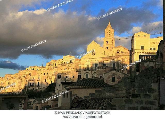 Matera at Sunset, Italy