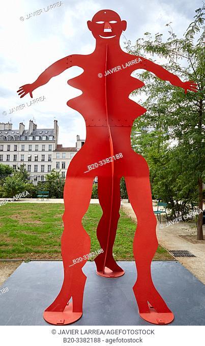 """Untitled"", 1976, Alexander Calder, Picasso Museum, Paris, France, Europe"