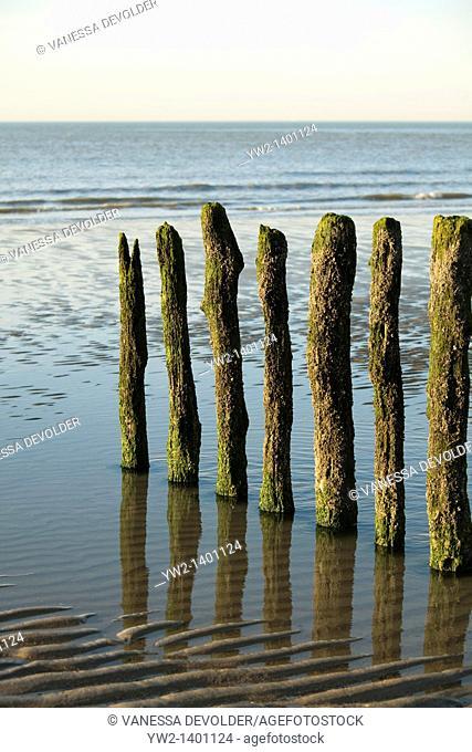 Beach Knokke-Heist, Belgium, Europe