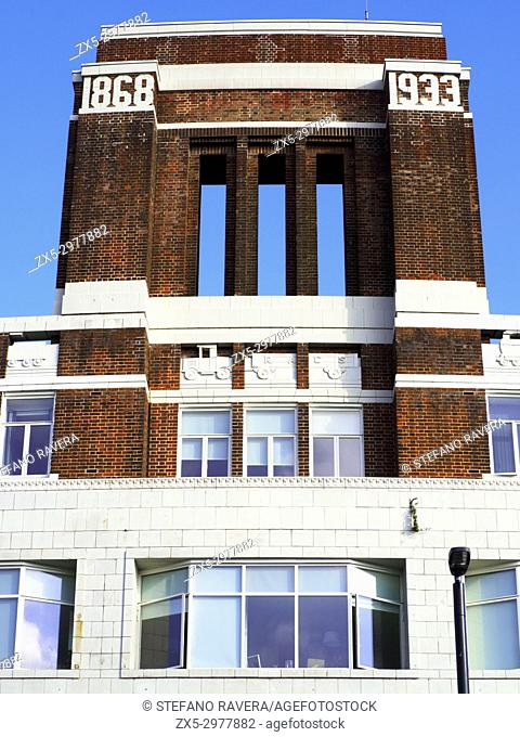 Tower House in Lewisham High Street, former Royal Arsenal Co-operative Society's flagship department store in Lewisham High Street - London, England