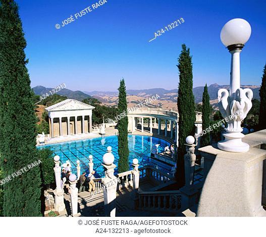 Neptune pool. Hearst Castle. California. USA