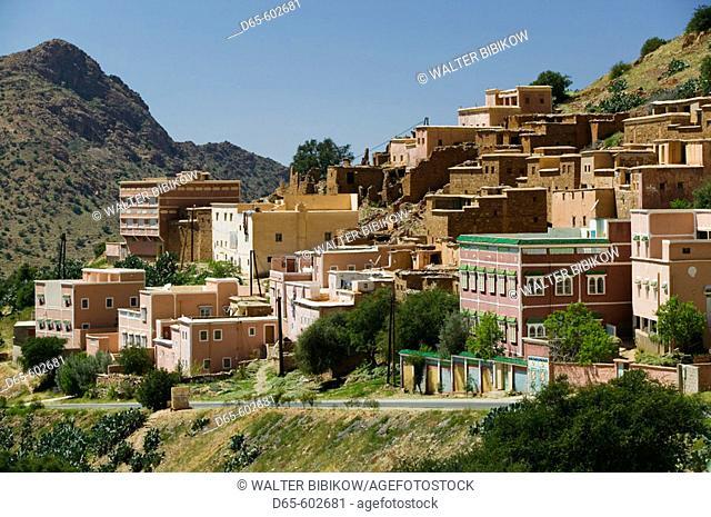 Morocco.  Anti Atlas. Road to Tafraoute: Abd el Jabar Village