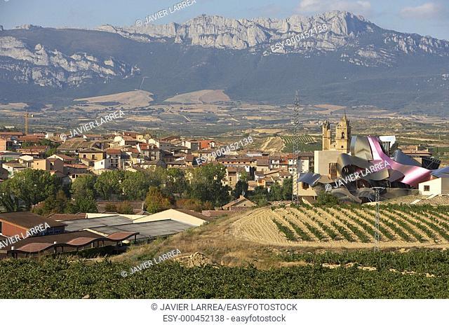 Sierra Cantabria, Ciudad del Vino, Bodegas Herederos de Marques de Riscal, Architect: Frank O. Gehry, Elciego, Rioja Alavesa, Araba, Alava, Euskadi
