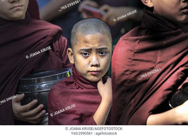 Mahar Gandar Yone Monastery, Amarapura, Mandalay, Myanmar, Asia