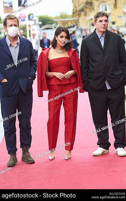 Leila Bekhti attended 'The Restless' Red Carpet during 69th San Sebastian International Film Festival at Victoria Eugenia Theatre on September 19