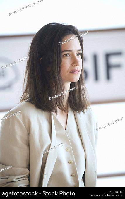 Katherine Waterston attended 'The world to come' Photocall during 68th San Sebastian International Film Festival at Kursaal Palace on September 26
