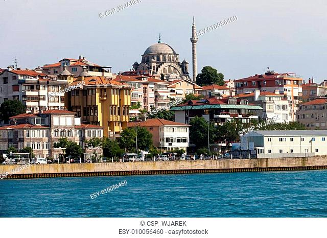 Istanbul - the cruise through the strait of Bosphorus