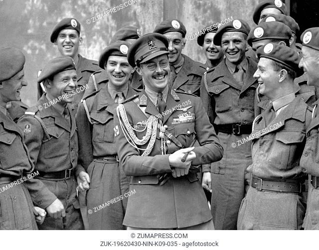 Sep. 5, 1946 - Sandhurst, U.K. - PRINCE BERNHARD LEOPOLD von Lippe-Biesterfeld (1911-2004) was prince consort of Queen Juliana of the Netherlands