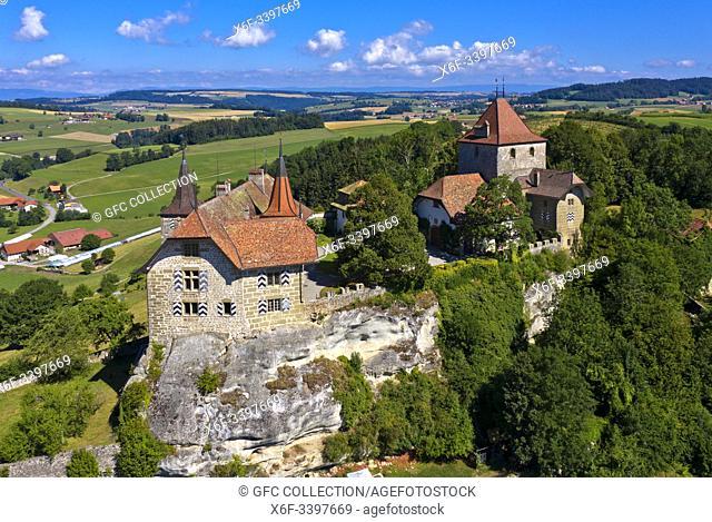 Château de Rue, Rue Castle, Rue, Canton of Fribourg, Switzerland