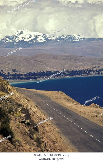 Costal Road at Lake Titicaca