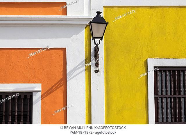 Street Light, Old San Juan Streetlight, Puerto Rico