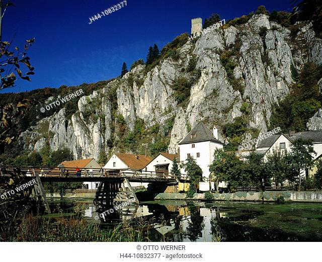 Germany, Europe, Essing, nature reserve, Altmuhl Valley, Main-Danube Canal, Franconian Alb, Lower Bavaria, Altmuhl pro