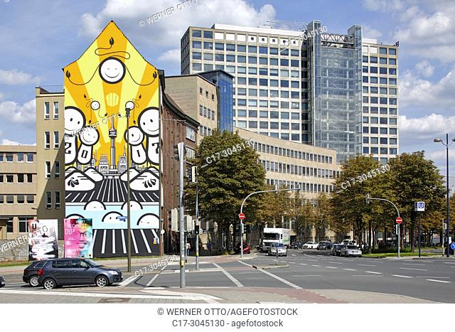 Dortmund, D-Dortmund, Ruhr area, Westphalia, North Rhine-Westphalia, NRW, Harenberg City Center, Harenberg Verlag, publisher, commercial tower, modern art