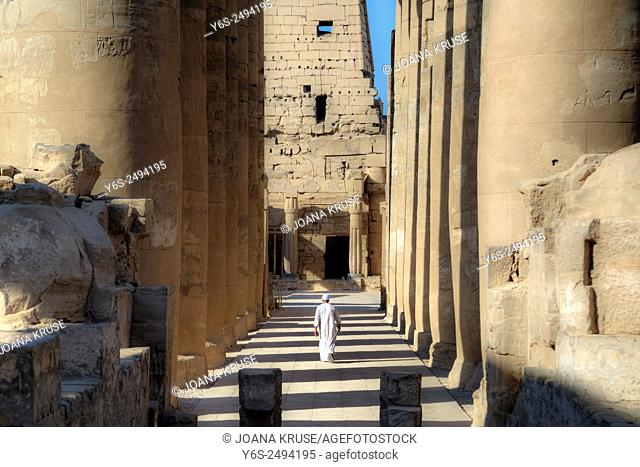 Luxor Temple, Thebes, Egypt, Africa