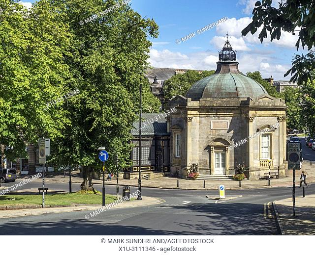 Royal Pump Room former spa building now a museum Harrogate North Yorkshire England
