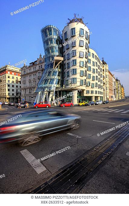 Dancing House by Frank Gehry, Prague, Czech Republic