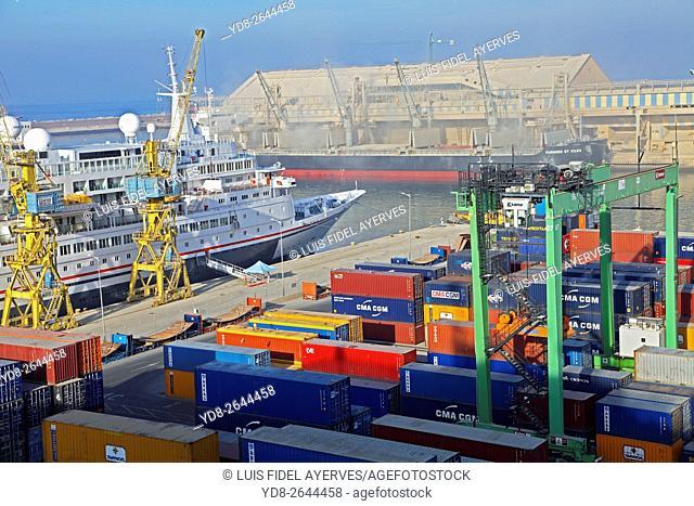 Port of Casablanca, Morocco